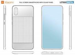 小米手机新专利曝光 可太阳能充电不